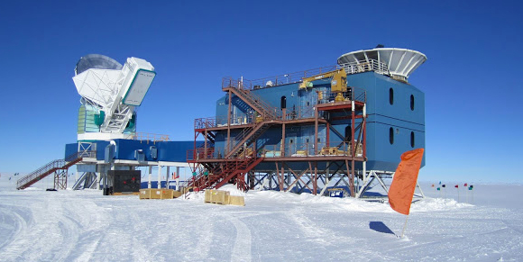 BICEP2 at the South Pole.